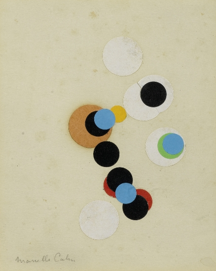 Composition with Circles - Marcelle Cahn