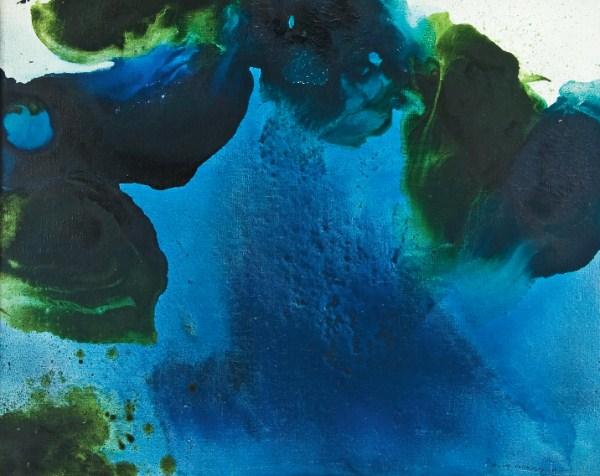 Fleurs d'eau, 1961 - Marcelle Loubchansky