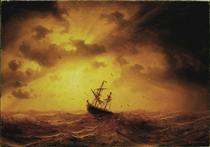 Stormy Sea - Marcus Larson