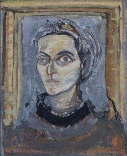 Self Portrait, 1942 - Maria Helena Vieira da Silva