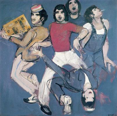 Travolta a Zurigo, 1979 - Mario Comensoli