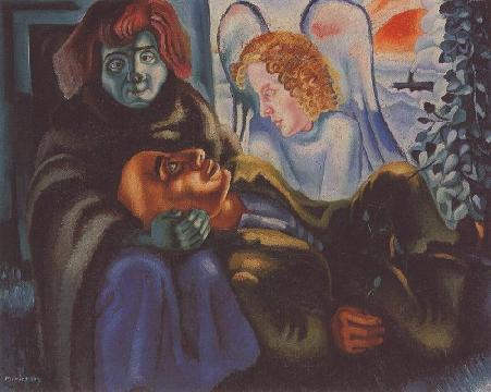 The Poet and the Angel, 1938 - Mario Eloy