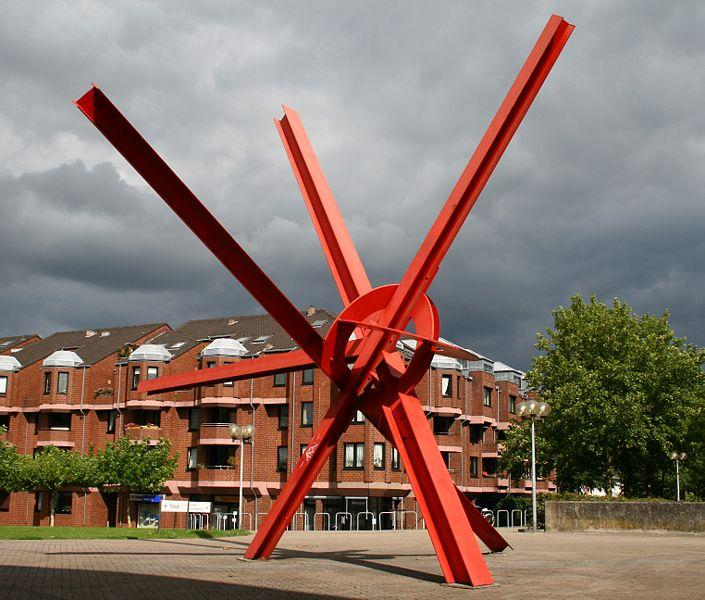 New Star, 1992 - Mark di Suvero