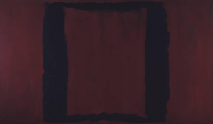 Black on Maroon, 1959 - Mark Rothko