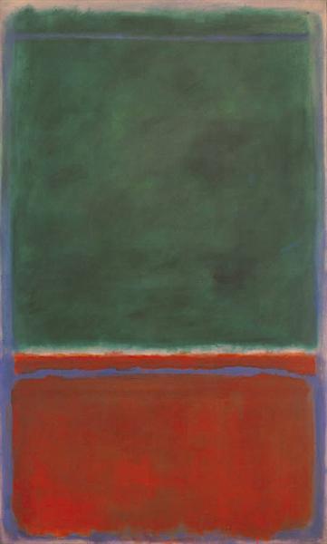 Green and Maroon, 1953 - Mark Rothko
