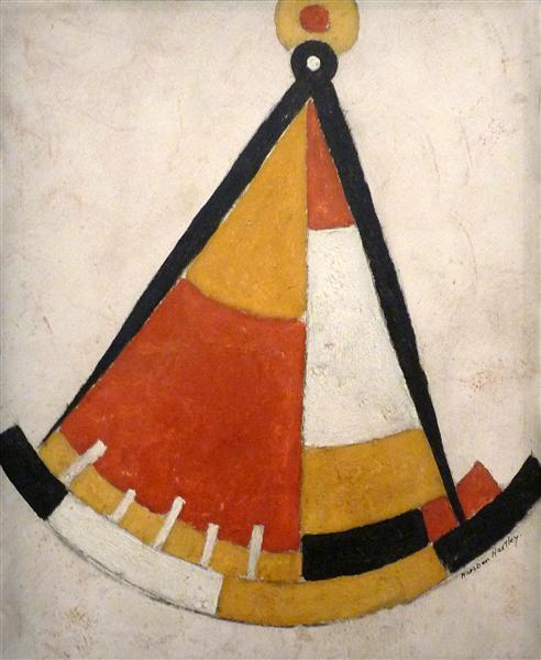 Sextant, 1917 - Marsden Hartley