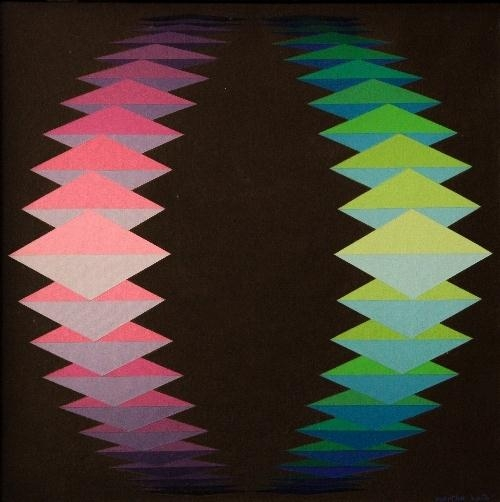Double fugue, 1975 - Martha Boto