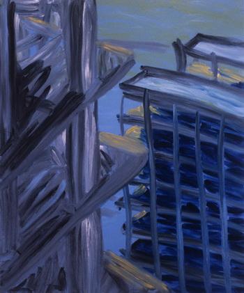 Green Sky, 1984 - Martha Diamond