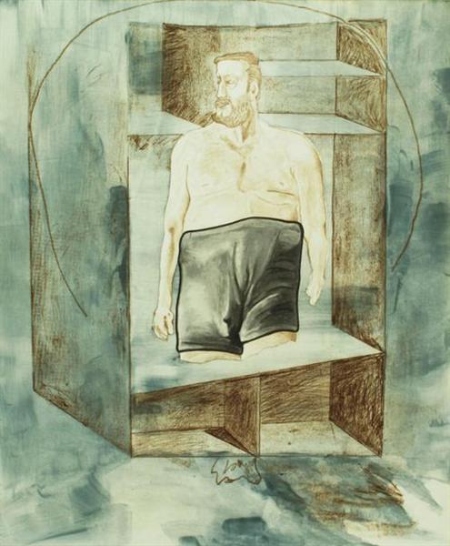 Selbstportät, 1996 - Мартин Киппенбергер