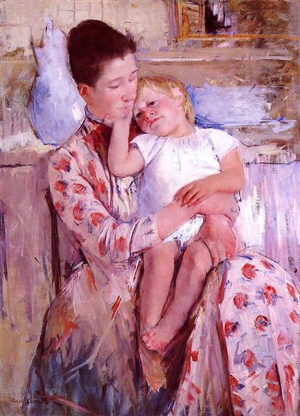 Emmie and Her Child, 1889 - Mary Cassatt