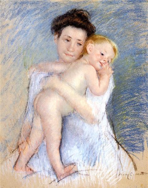 Maternal Tenderness - Cassatt Mary
