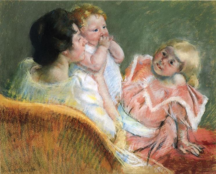 Mother and Children, 1901 - Mary Cassatt