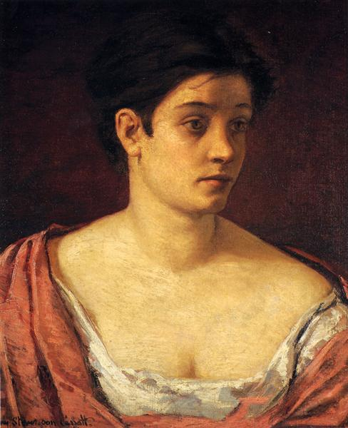 Portrait Of A Woman, 1872 - Mary Cassatt