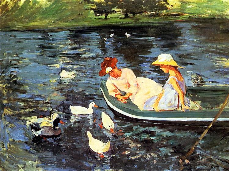 Summertime - Mary Cassatt