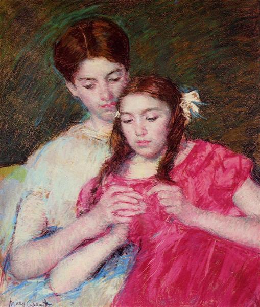 The Crochet Lesson, 1913 - Mary Cassatt