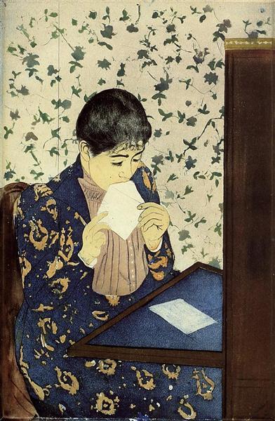 The Letter - Mary Cassatt