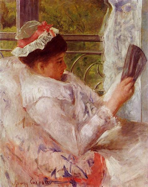 The Reader, 1878 - Mary Cassatt
