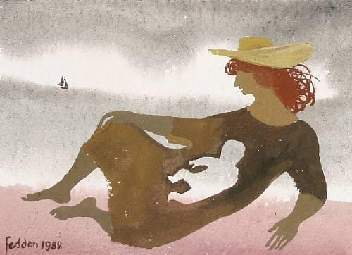On the Shore, 1988 - Mary Fedden