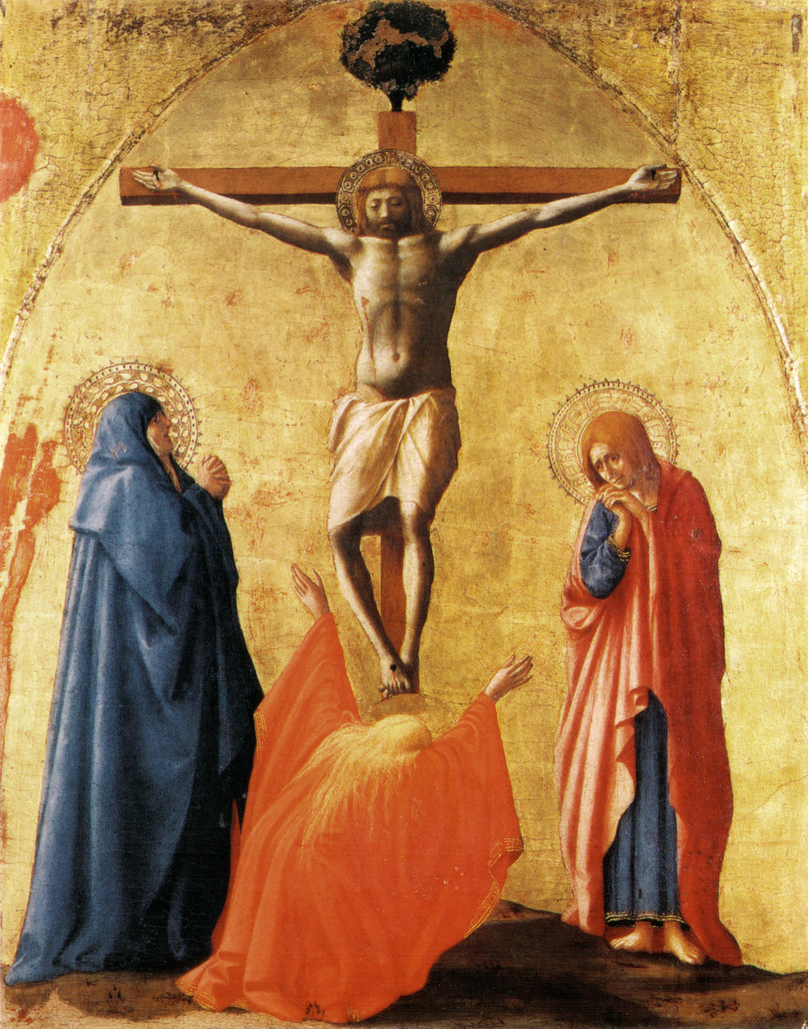 Crucifixion by Masaccio
