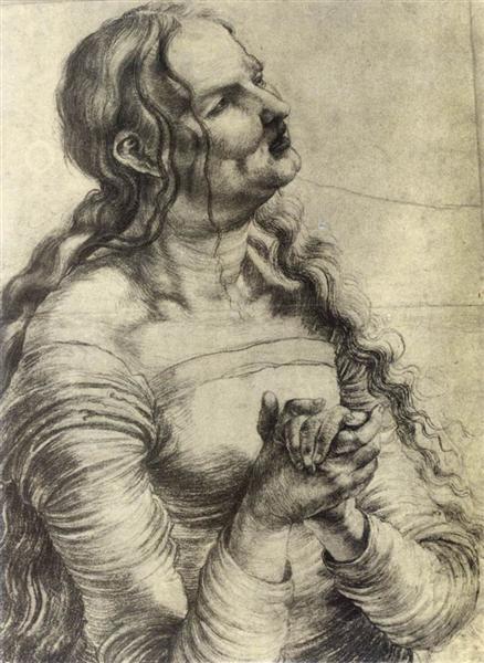 Weeping Woman, 1512 - 1514 - Matthias Grünewald