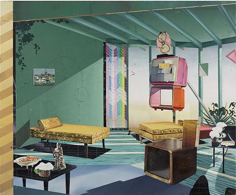 Zimmer, 2004 - Matthias Weischer
