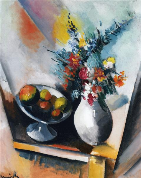 Fruit and Flowers, 1910 - Maurice de Vlaminck