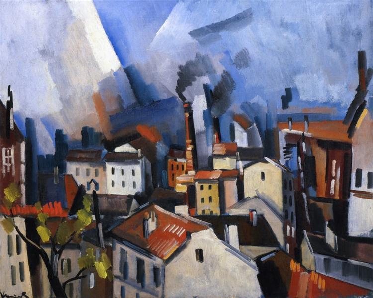 Suresnes, 1919 - Maurice de Vlaminck