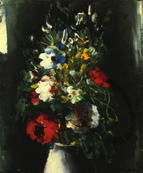 Vase of Flowers - Maurice de Vlaminck
