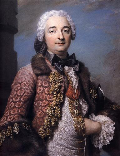 Honore Armand, Duke of Villars - Maurice Quentin de La Tour