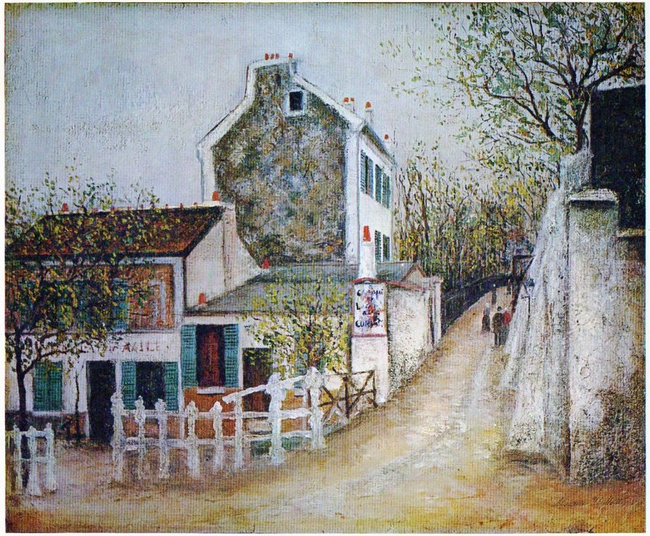 Maurice Utrillo - milk  - ☆ Milk ☆ 平平。淡淡。也是真。
