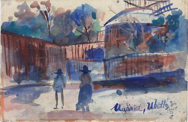 Maurice Utrillo 莫里斯·尤特里羅(1883年至1955年)法國後印象派畫家。。。 - milk  - ☆ Milk ☆ 平平。淡淡。也是真。