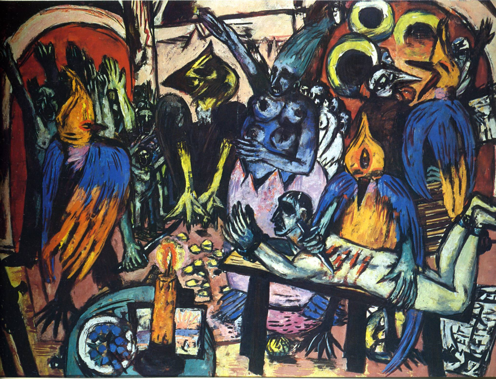 bird 39 s hell max beckmann encyclopedia of visual arts. Black Bedroom Furniture Sets. Home Design Ideas