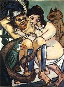 Odysseus and Calypso - Max Beckmann