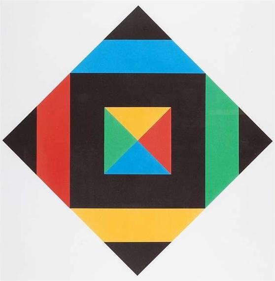 Hommage à Picasso, 1972 - Max Bill