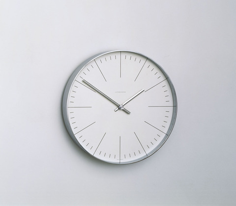 Junghans Wall Clock (model 32-0389), 1957 - Max Bill