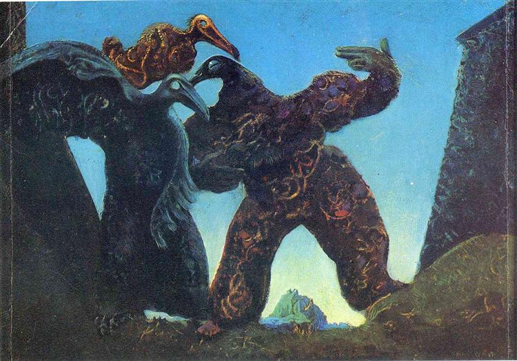 Barbarians Marching to the West, 1937 - Max Ernst