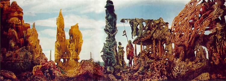 Europe after the Rain II, c.1941 - Max Ernst