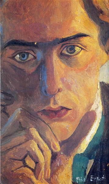 Self-Portrait, 1909 - Max Ernst