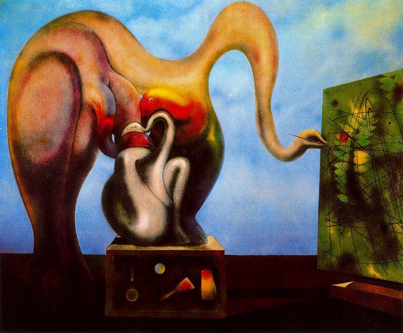 Slike poznatih umjetnika koje su vama lijepe Surrealism-and-painting-1942