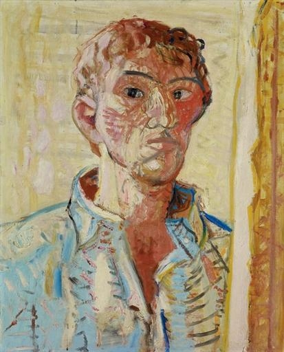 Self-Portrait, 1952 - Max Gubler