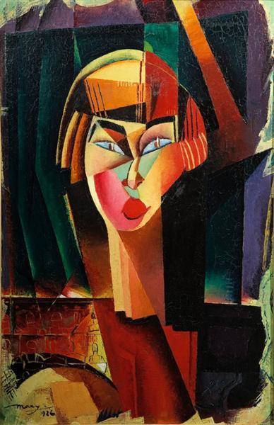 Electric Madonna, 1926 - M. H. Maxy