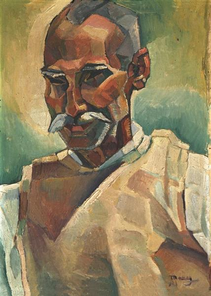 Peasant Portrait, 1931 - М. Х. Максі
