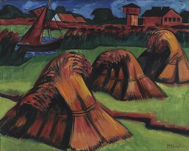 Kornpuppen, 1922 - Max Pechstein