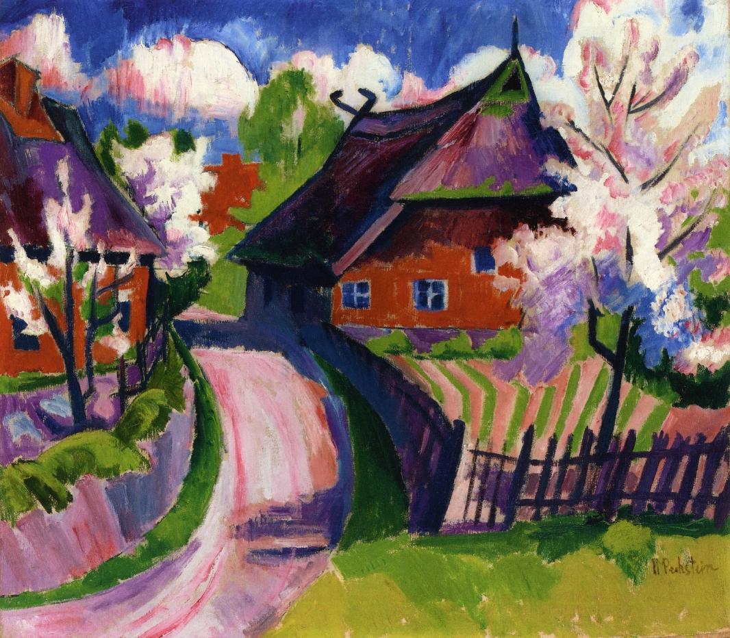 Springtime 1919 Max Pechstein Wikiart Org