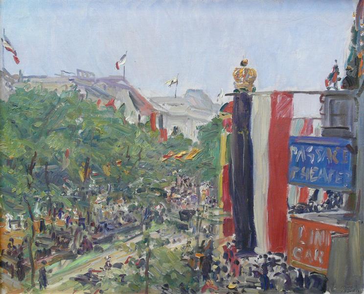 Unter den Linden, 1913 - Max Slevogt