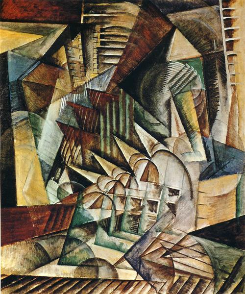 Rush Hour, 1915 - Max Weber