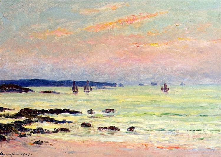 Evening at the Sea, 1909 - Maxime Maufra