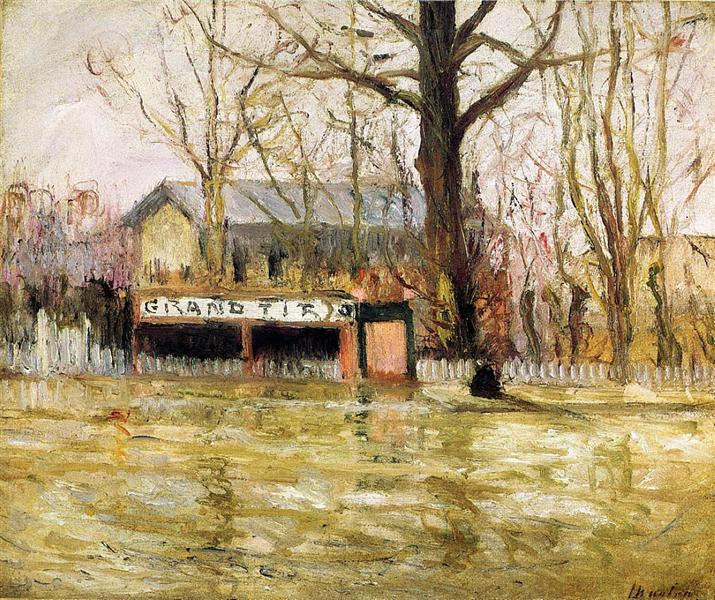 Flood (Joinville-le-Pont), c.1910 - Максим Мофра
