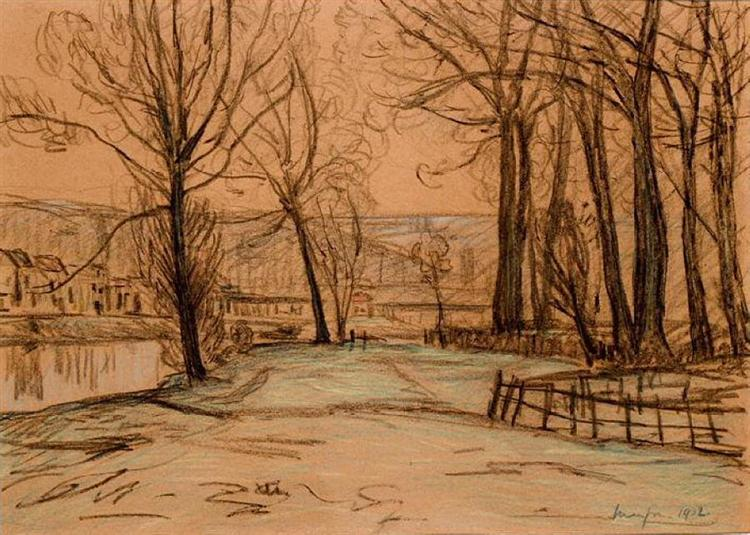 Landscape, 1902 - Maxime Maufra