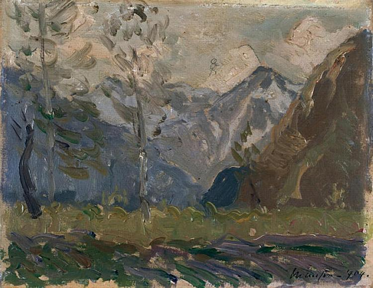 Study of mountains, 1904 - Maxime Maufra